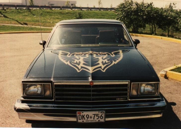1978 El Camino Royal Knight El Camino Chevrolet Malibu Classic