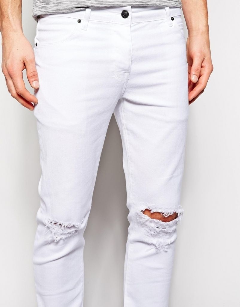 1000  images about Ripped Jeans For Men on Pinterest | Nice, White ...