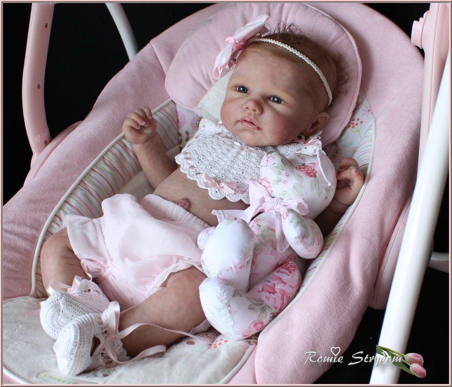 Romie S Babies Solid Full Silicone Juliette Bonus Doll