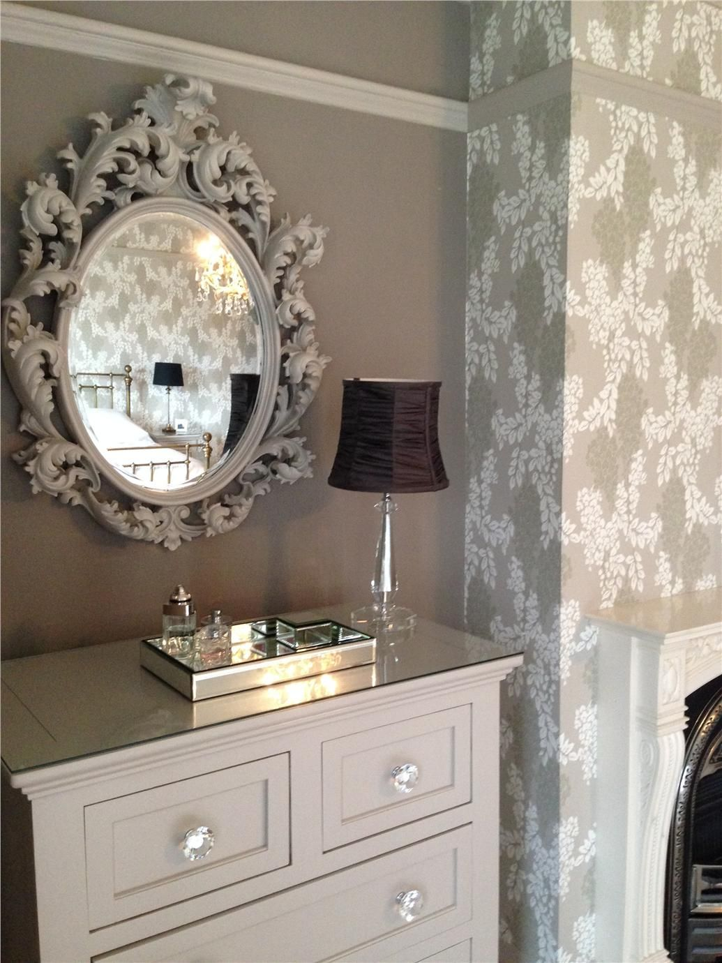 How To Decorate With Round Mirrors Your Living Room  An Grey - Designer mirrors for living rooms