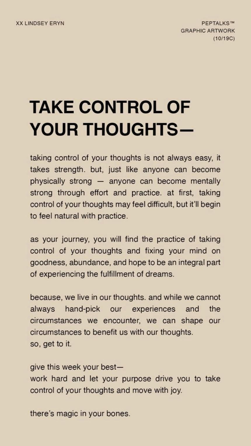 Your Thoughts Become Reality💥 BECOME RE- BALANCED WITH YOUR THOUGHTS & EMOTIONS