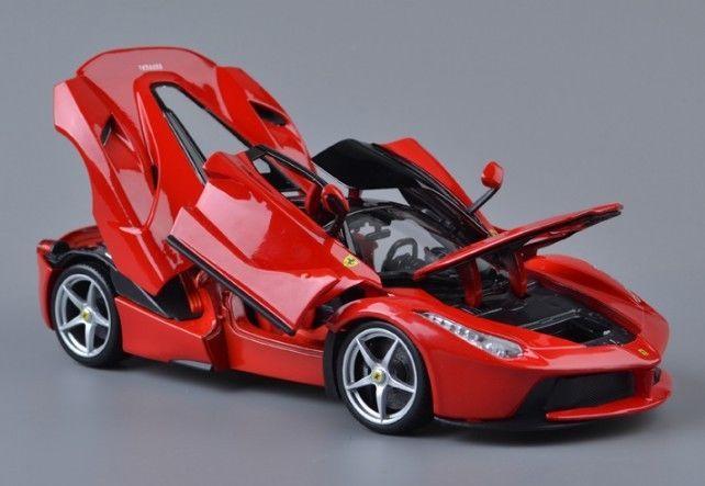 Bburago Ferrari Laferrari Diecast Metal Model Roadster Car - Model sports cars