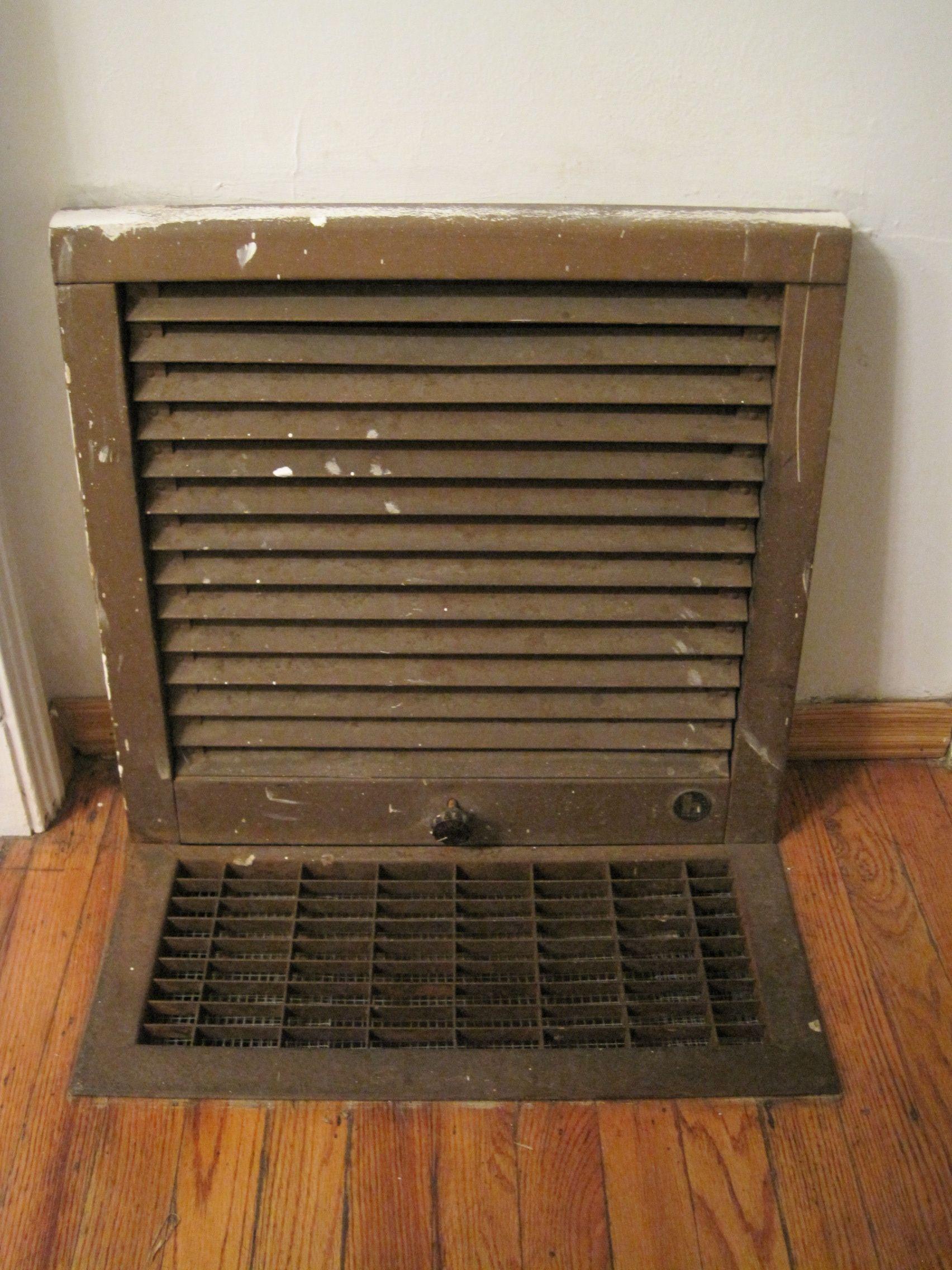 Diy Freshen Up Your Floor Heaters Floor Heater Freshen Up My Childhood Memories