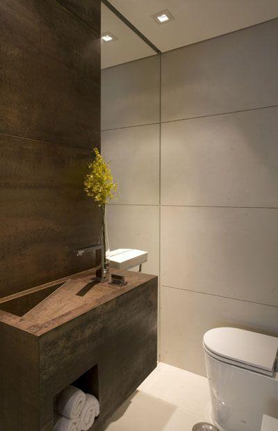 lavabo cuba esculpida  Pesquisa Google  Interior Lavabo  Pinterest -> Cuba Banheiro Lavabo