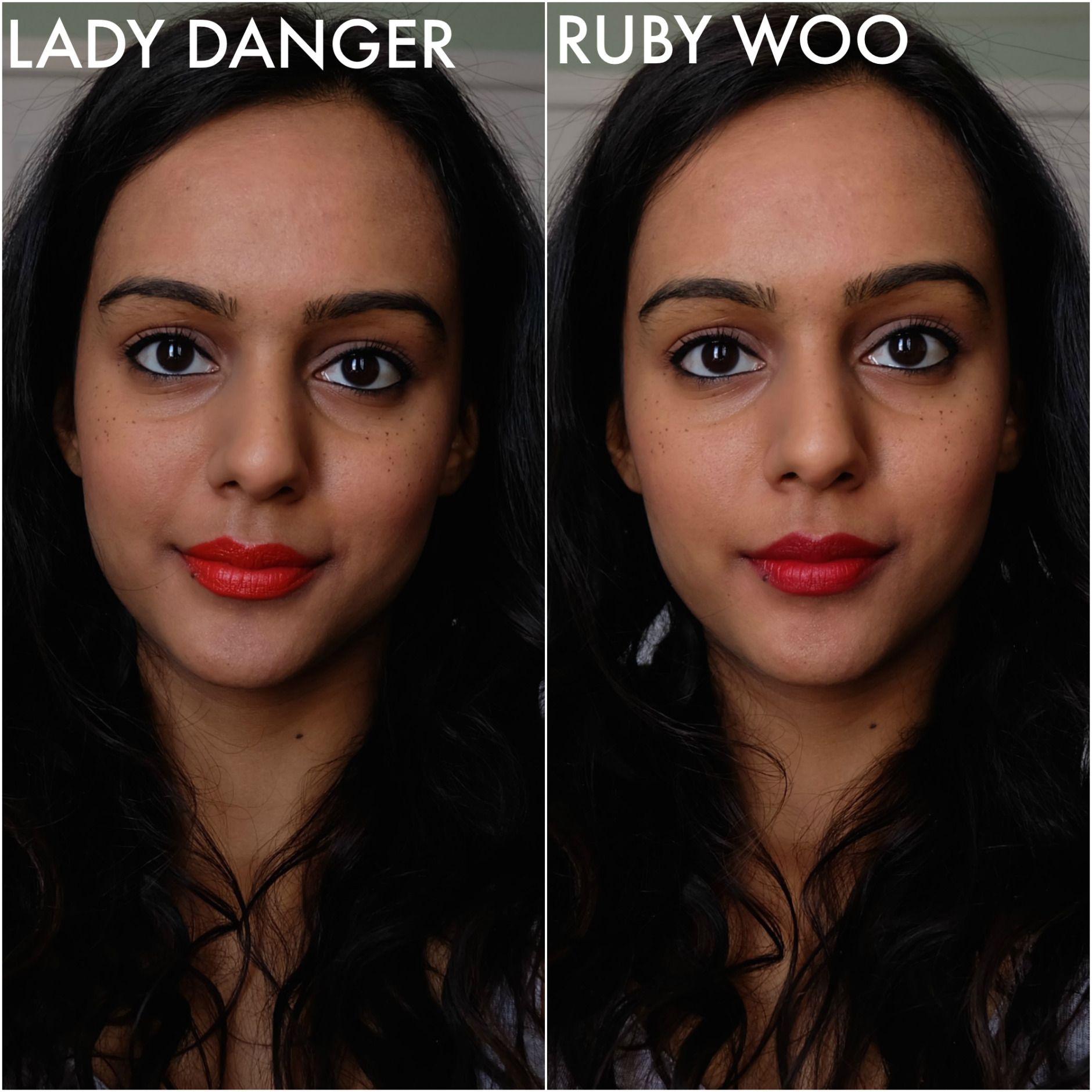 Lady Danger Ruby Woo | Lipstick for dark skin, Bright ...
