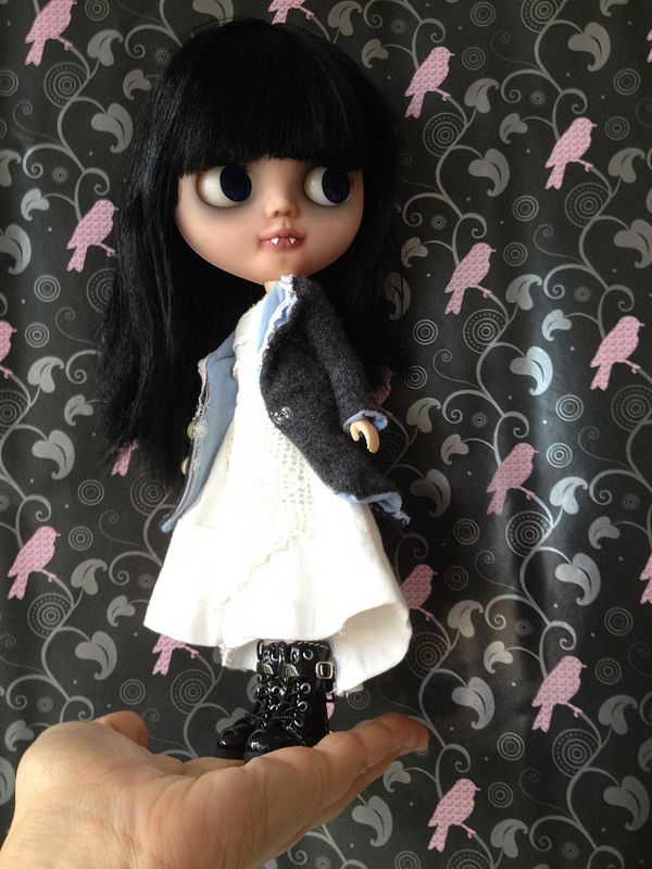Custom basaak  doll vampi