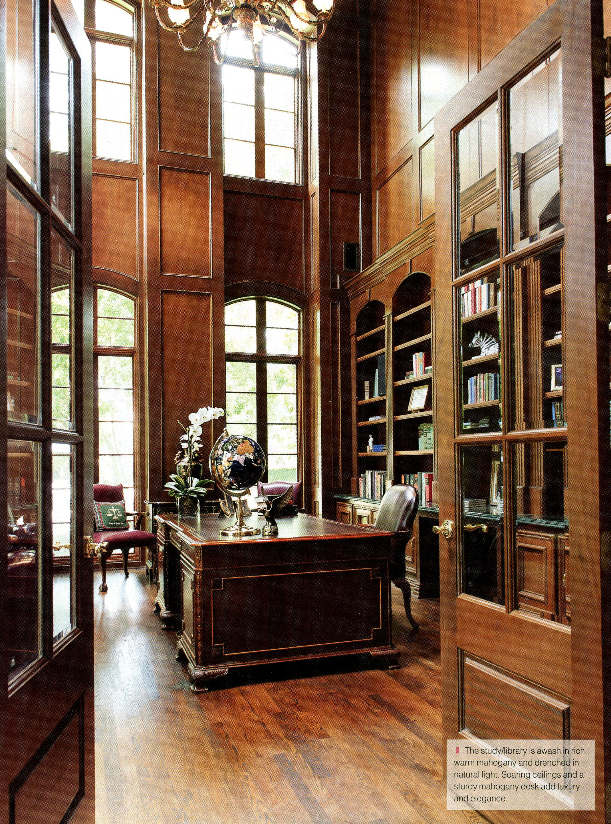 Interior Design Home Library: Home Library Design, House And