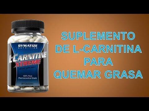 como tomar carnitina para quemar grasa
