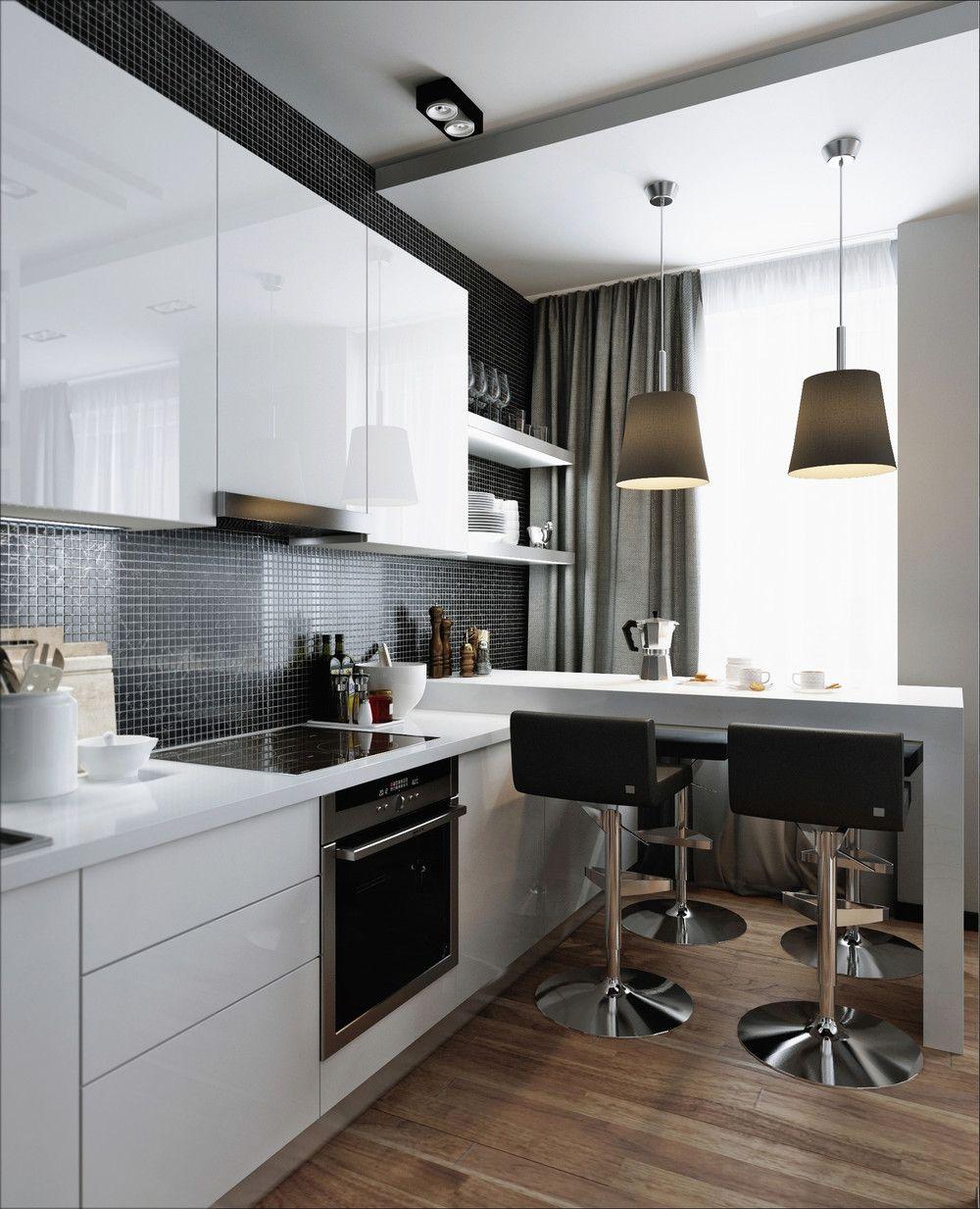 Küche interieur farbschemata  kleine wohnung designs gelten mit schönen farbschemata sieht so