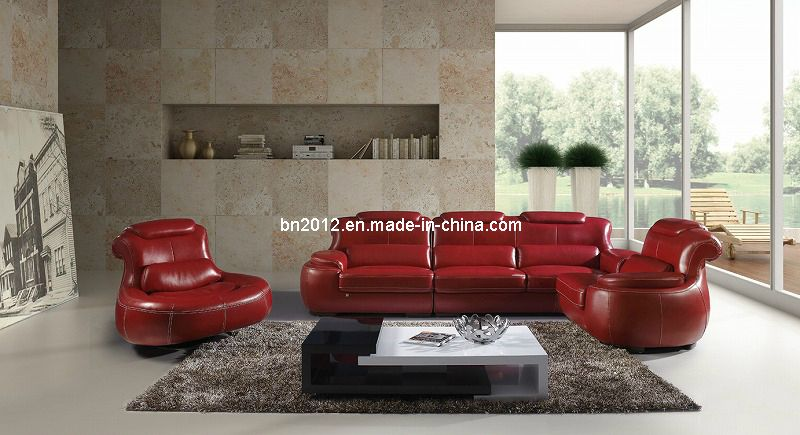 Living Room Genuine Leather Sofa Sbl
