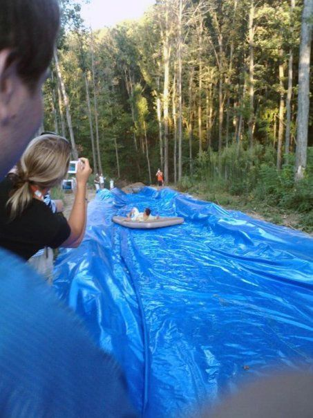 slip n slide @Julie Wiegand for some reason this makes me ...