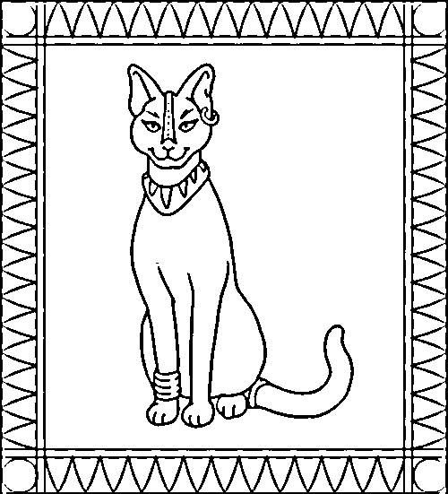egyptian color pages | Back to Coloring pages egypt category ...