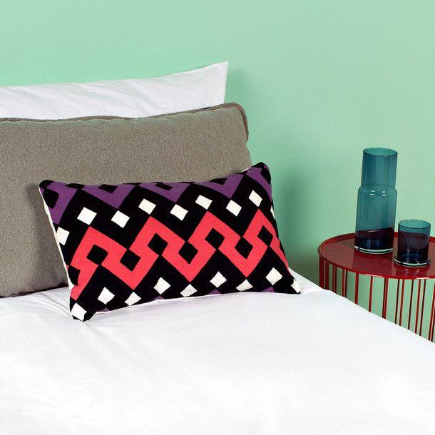 Basils Wall Plum Pillow 12x20