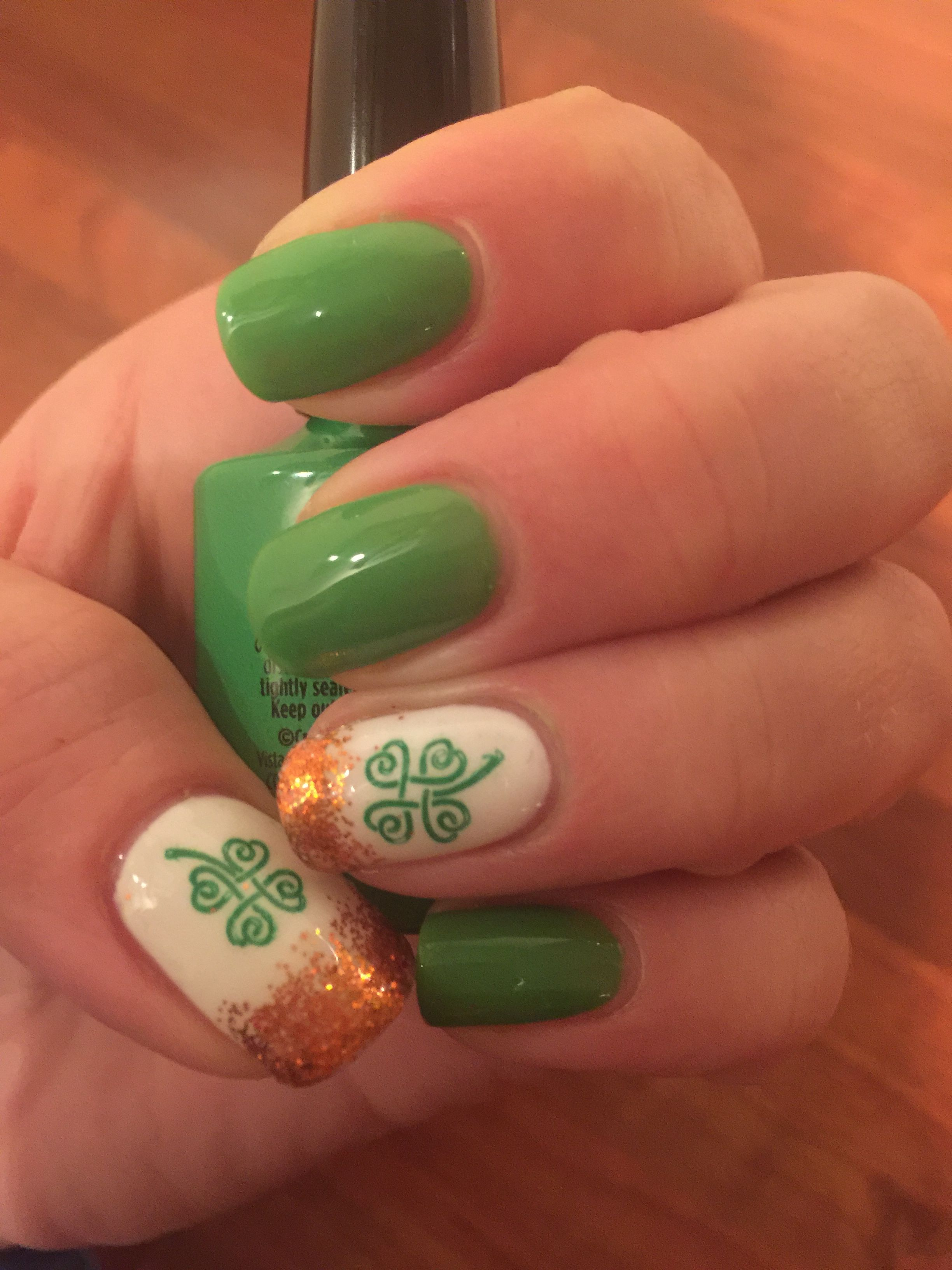Ireland nails for the rugby World Cup. | Nail art | Pinterest | Rugby