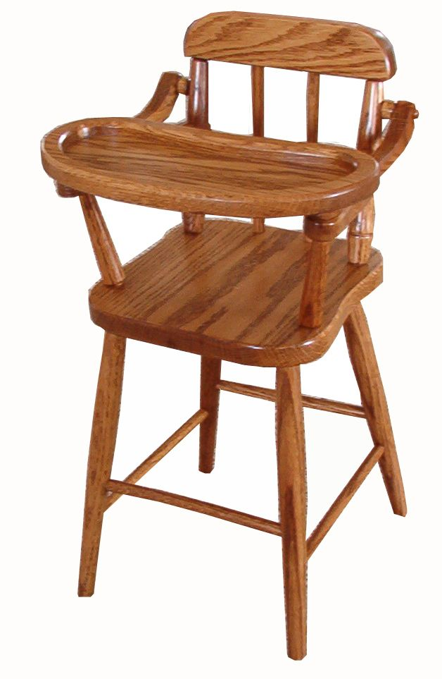 solid wood doll high chair spindle wooden toys pinterest dolls rh pinterest com Vintage Wood Doll High Chair High Chairs Amish Made
