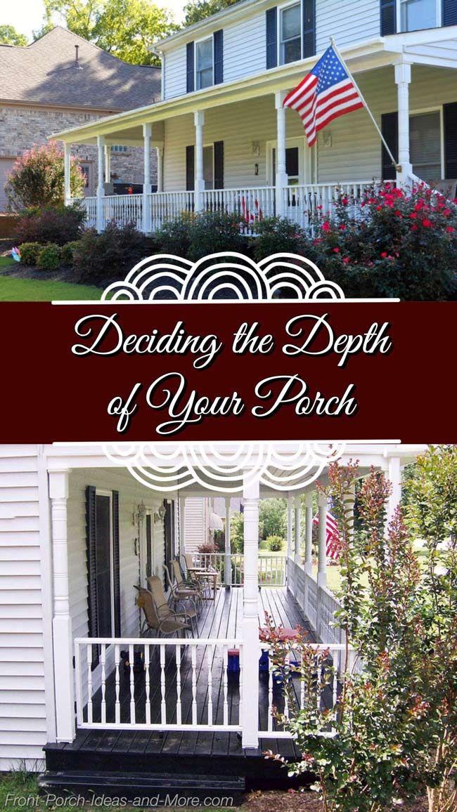 Front Porch Design 8 Or 10 Feet Depth Front Porch Design Porch Design Pergola Ideas For Patio