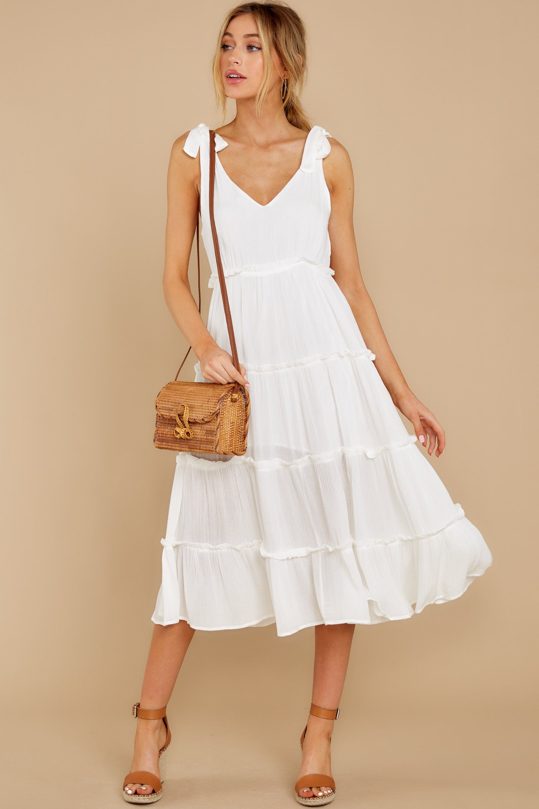 In Full Swing Ivory Midi Dress Glamorous Evening Gowns Ivory Midi Dresses Midi Dress [ 2738 x 1825 Pixel ]