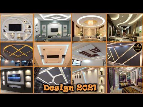 احدث ديكورات جبسون بورد واجمل الوان الدهانات 2021 Youtube Modern Decor Modern House Modern Design