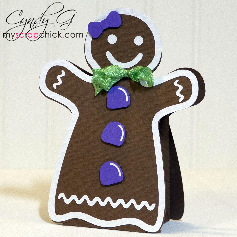 CGGingergirl in 2020 Gingerbread girl, Paper crafts