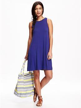 ae0c1ea6e1e17a Jersey Swing Dress for Women