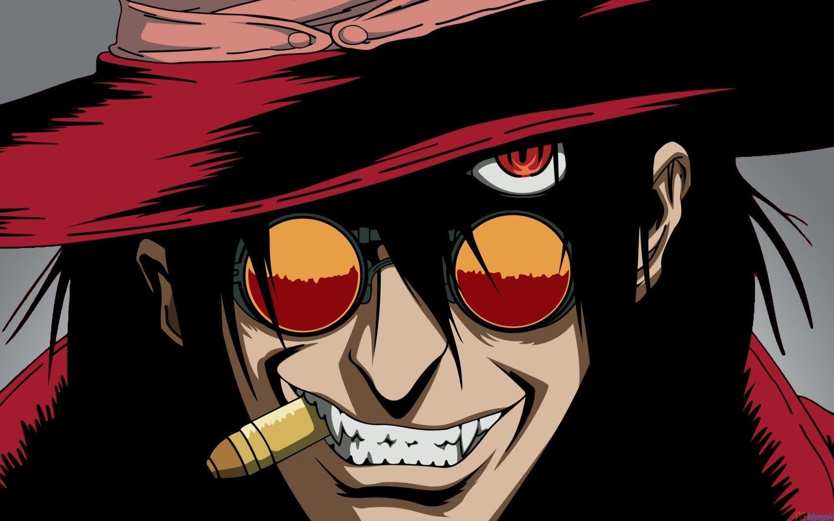 GR Anime Review Hellsing Hellsing alucard, Alucard