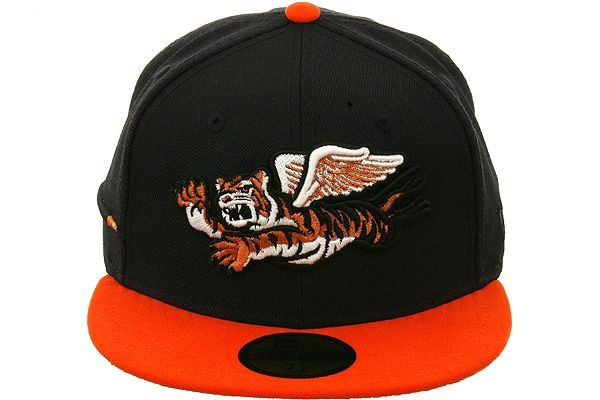 db9f9e886b5 The Clink Room Lakeland Flying Tigers Fitted Hat by New Era - Navy Blue