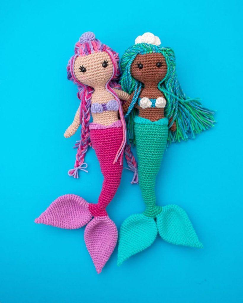 Ragdoll Mermaid Free Crochet Pattern • Spin a Yarn Crochet | 1024x820