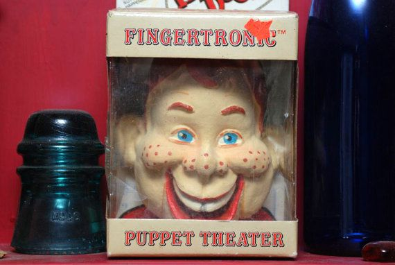 Vintage 1987 Puppet Theater howdy doody by ...