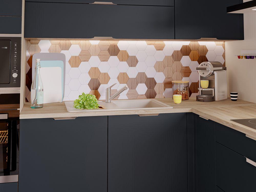 Cuisine Sur Mesure Modele De Cuisine Essentielle Par Socoo C En 2020 Cuisine Petit Espace Appartement Design Meuble Cuisine