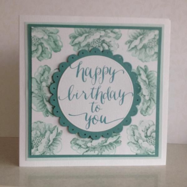 Mums 90th Birthday Card Front Stamping Pinterest 90th