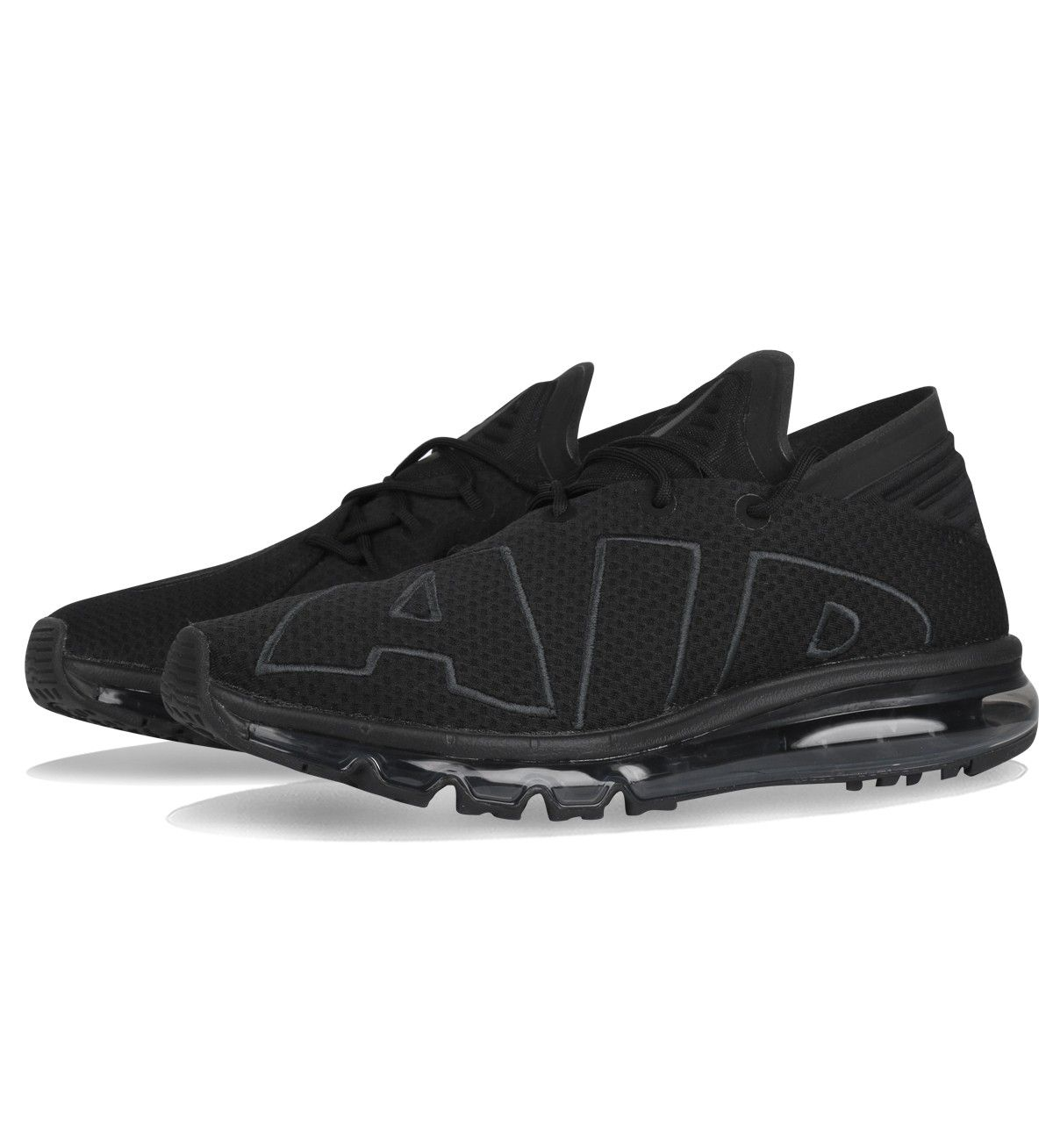 huge selection of 8a0ca 50991 Nike Air Max Flair UpTempo Triple Black 942236 002 Chaussures Nike Running  Pour HOmme-1708253348 - Les Nike Sneaker Officiel site En France