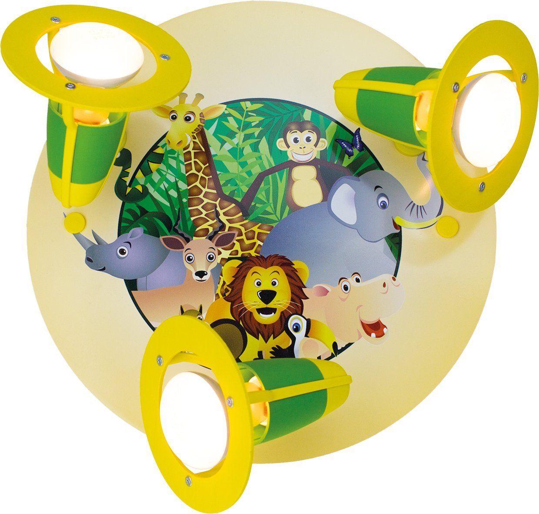 Deckenlampe clipart  🐘 Deckenlampe für ein Dschungelzimmer | Kinderzimmer Lampe ...