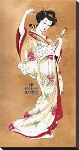 Resultado de imagen para pinturas de geisha