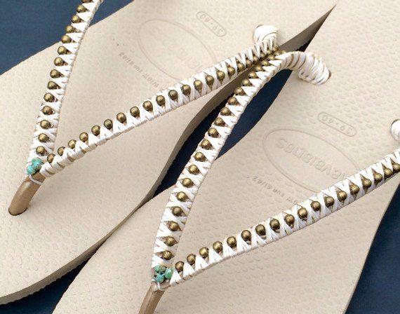 d775991cf Bridal Flip Flops
