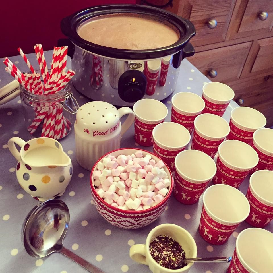 Sugar Rushed: Hot Chocolate Station! #bonfirenightfood
