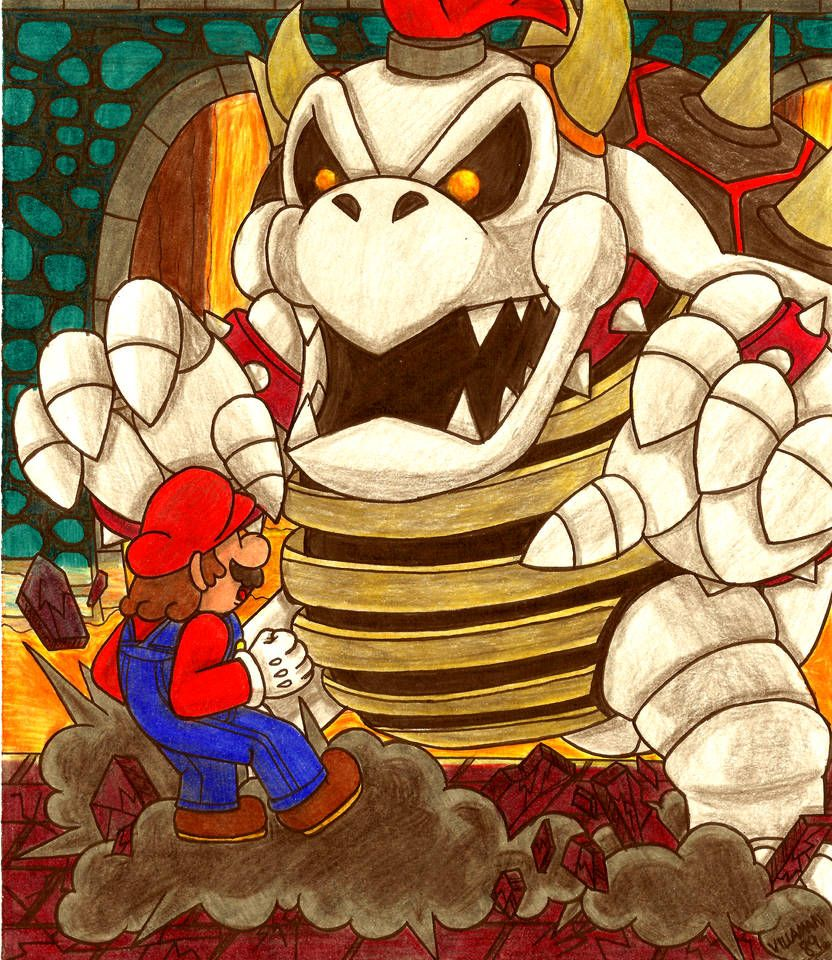 32+ Mario evil info