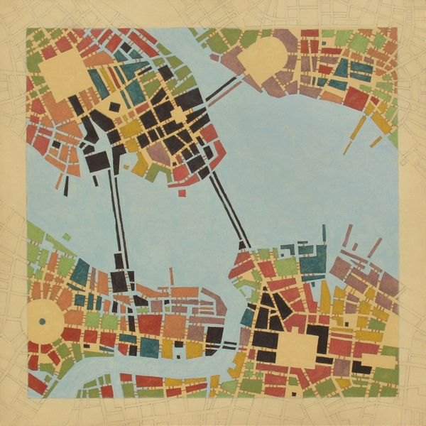 Codes - Imaginary maps of nonexistent cities by federico cortese