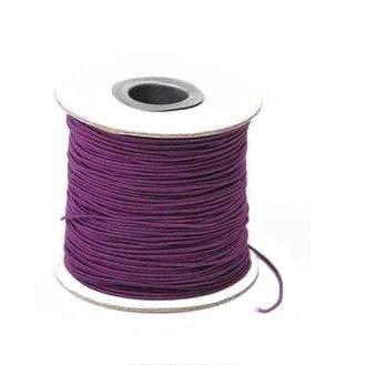 1mm Byzantium Purple Waxed Cord 80 yards