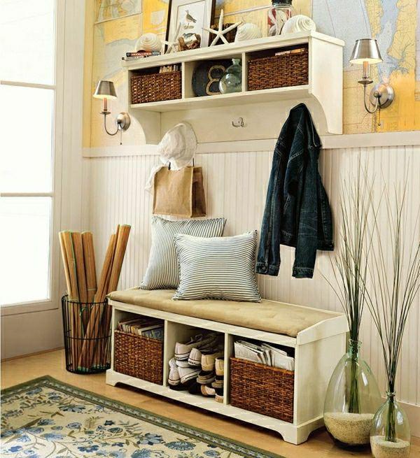 den flur einrichten gestalten sie einen hinrei enden eingangsbereich wohnen einrichten. Black Bedroom Furniture Sets. Home Design Ideas