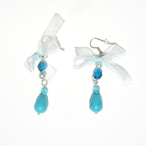 Orecchini Turquoise Caress