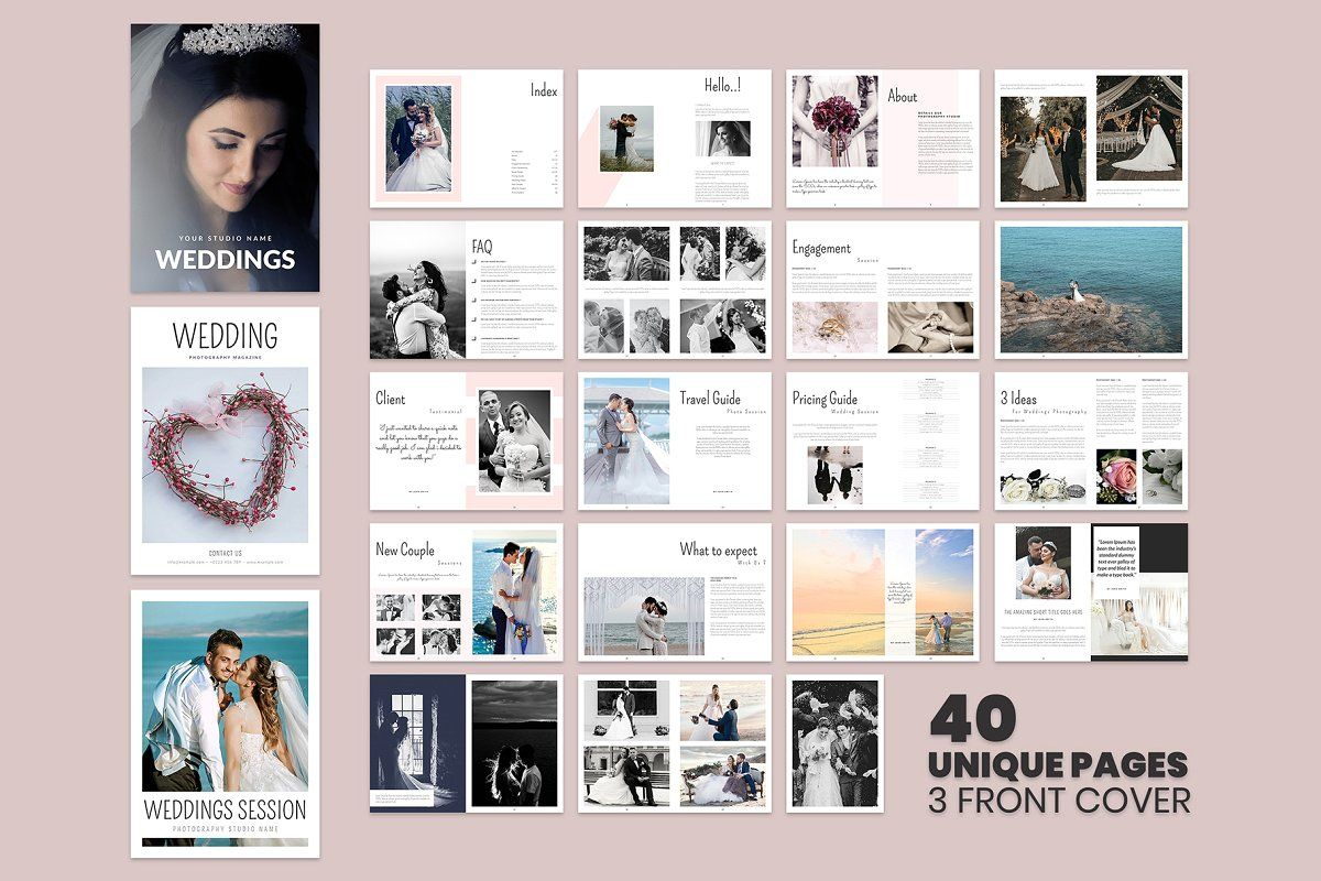Wedding Magazine Template Wedding Magazine Template Magazine Template Wedding Magazine