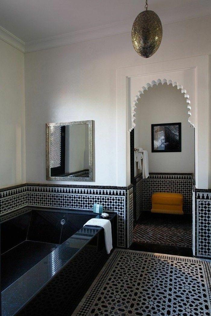 Hammam Marocain, Déco Marocaine, Douche Marocaine, Salle De Bain Marocaine,  Salon Marocain