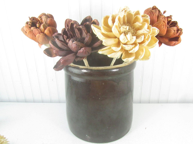 Antique Crock, Brown Pottery Crock Pottery, Antiques, Crock