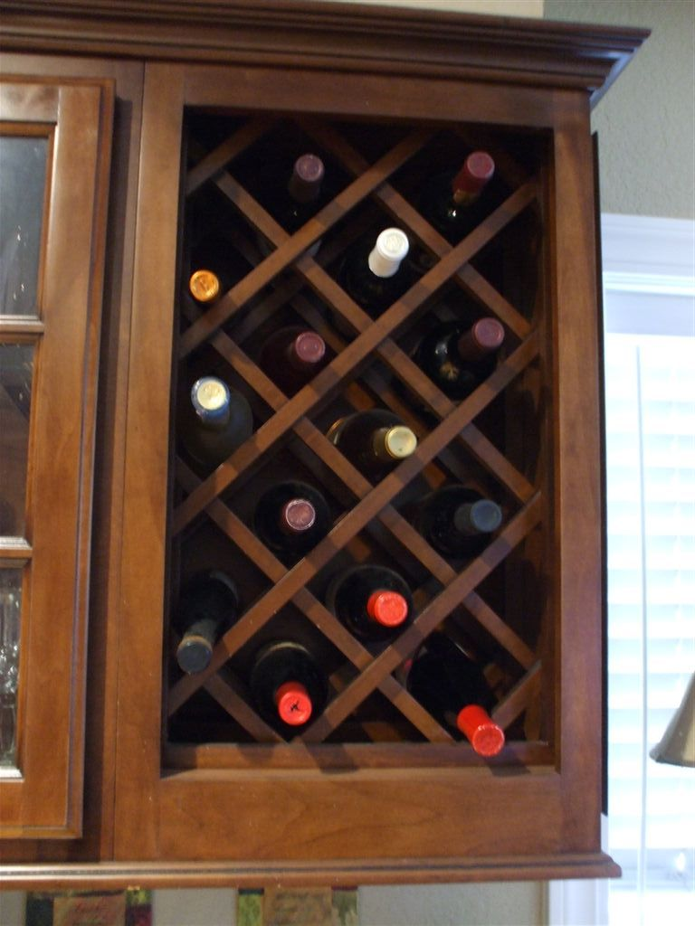 Built In Criss Cross Wine Rack Google Search Kitchen Cabinet