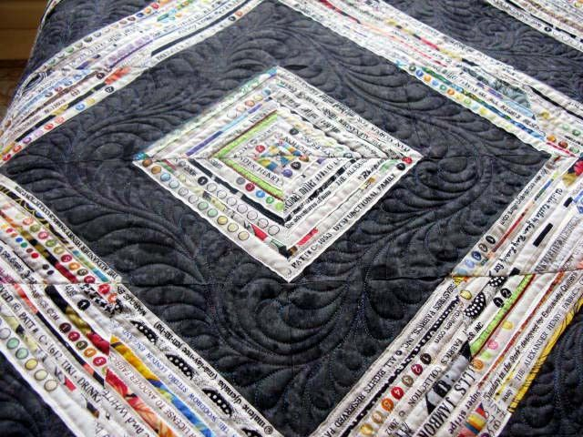 Selvage Quilt WIP mini tutorial | Small quilts, Project ideas and ... : selvage quilt - Adamdwight.com