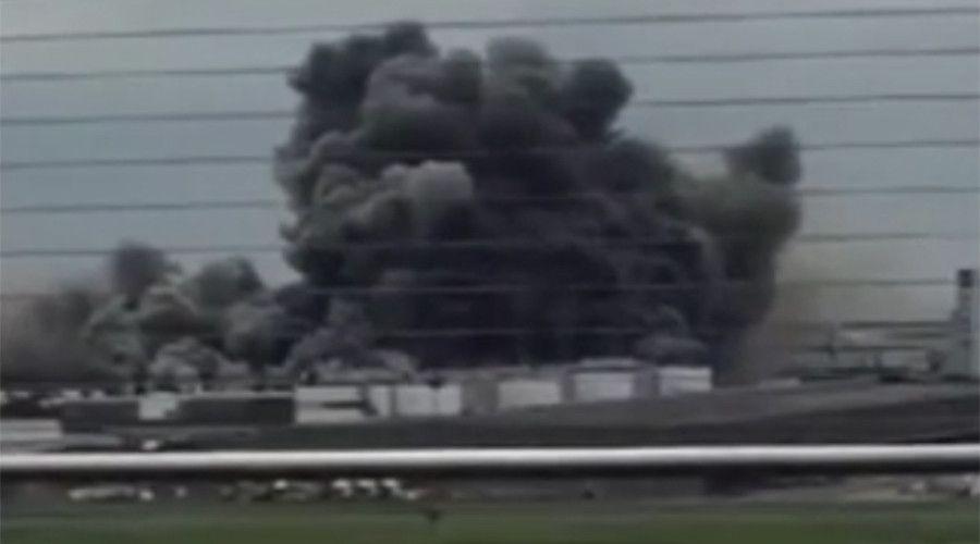 Huge factory blaze erupts near Tokyo, Japan airport (PHOTOS)  24 Aug, 2015(2)