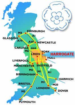 Harrogate England Map.Uk Map Harrogate Map Tours Travel