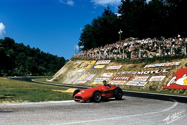 Fangio in France...