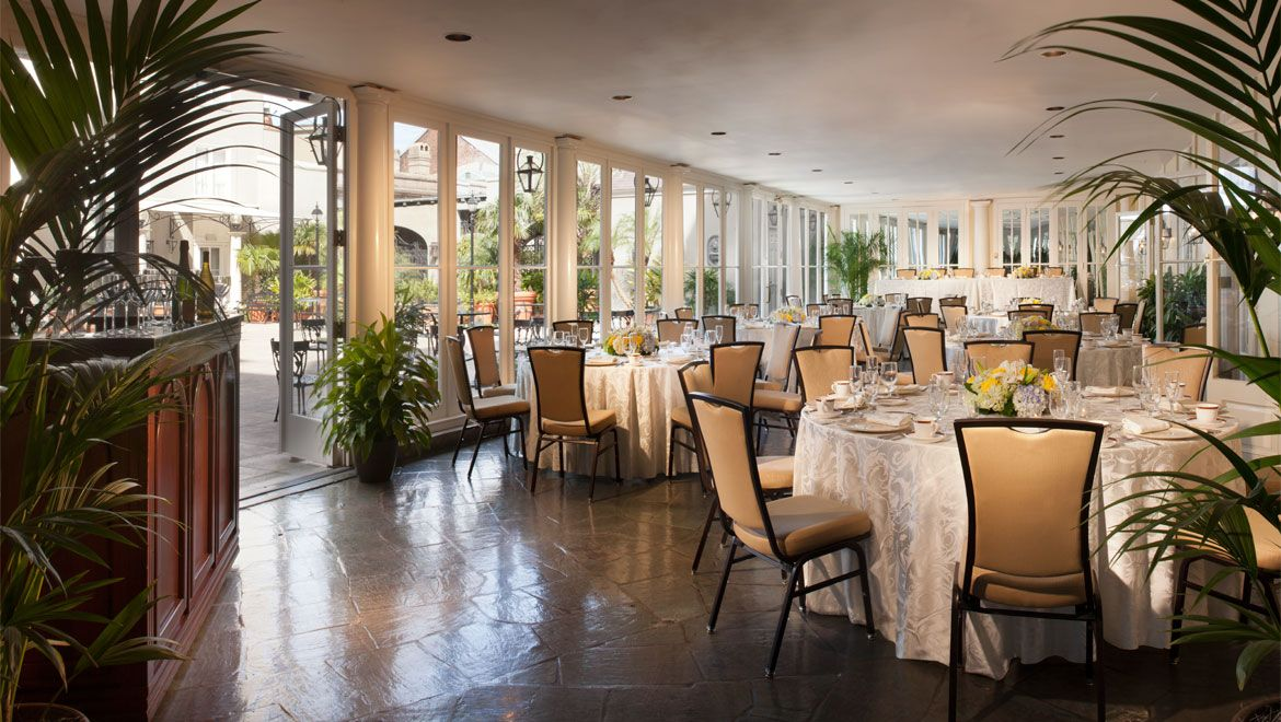 Omni Royal Orleans Is A Four Diamond Luxury New Hotel Located In The Historic French Quarter Make Your Vacation One To Remember