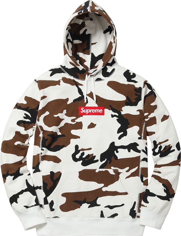 Supreme 16AW Box Logo Hooded Sweatshirt  ce9e343945